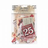Tim Holtz® Idea-ology™ Ephemera Pack - Christmas - TH93627